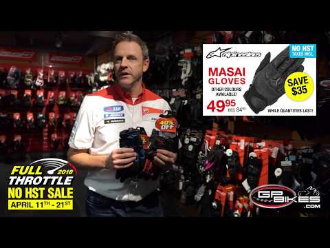 Product Review: Alpinestars Masai Gloves - Save $35