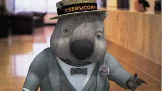 Tour Servcorp with Sidney the Wombat - Philippines
