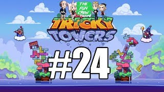 The FGN Crew Plays: Tricky Towers #24 - Tilted Win
