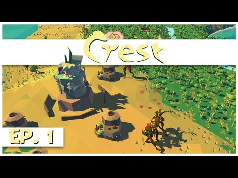 Crest - Ep. 1 - Directing a Tribe! - Let's Play Crest Gameplay