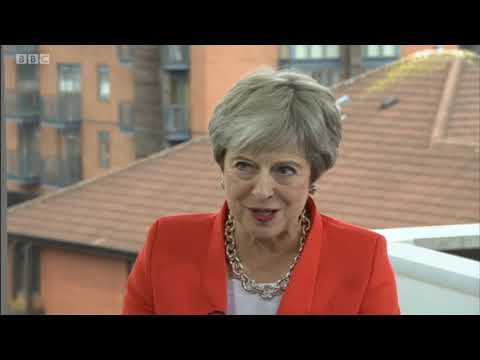 Theresa May at CPC