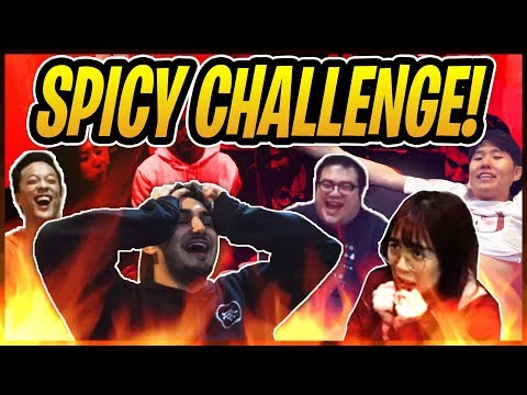 Eating Insanely Spicy Fried Chicken Ft. OFFLINETV, XChocoBars, Fuslie & More | Stream Highlight