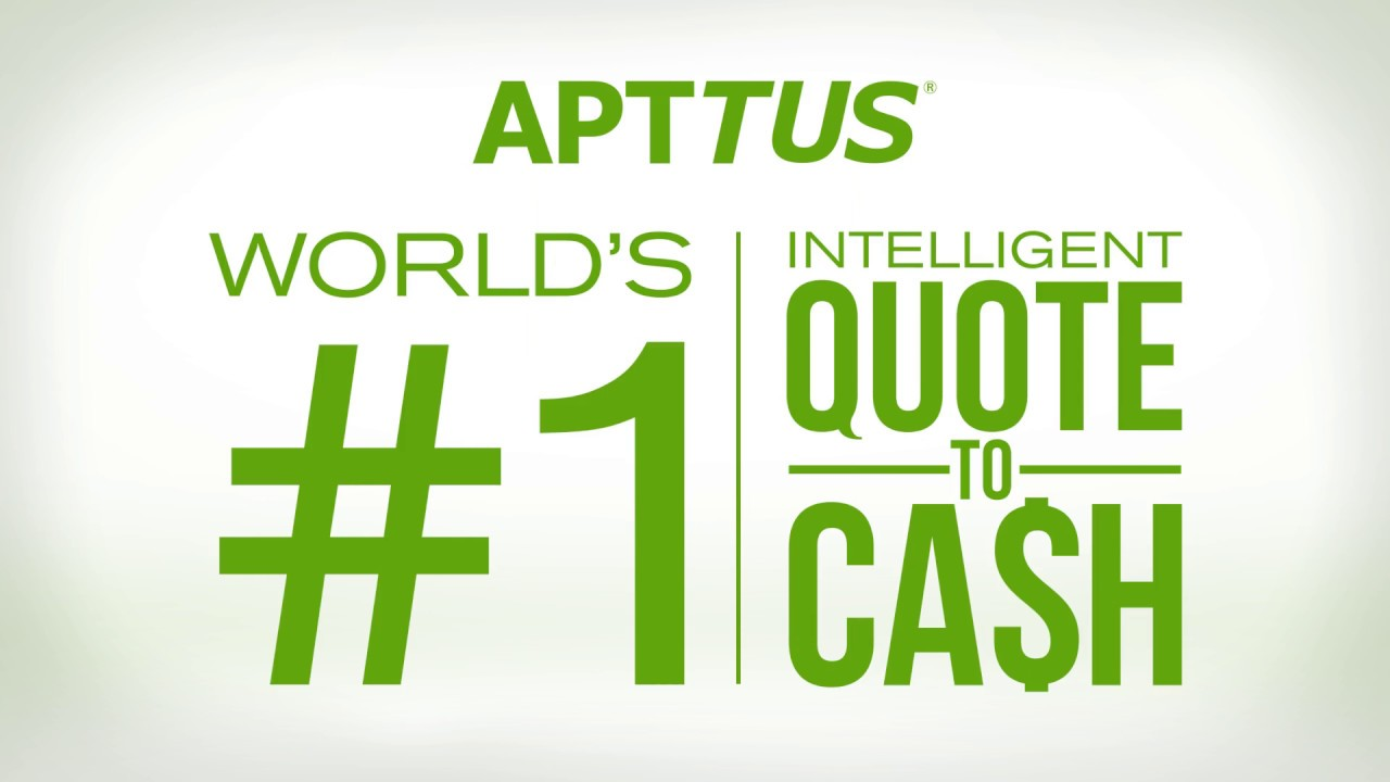 Quote To Cash Apttus The World Leader In Quotetocash  Youtube