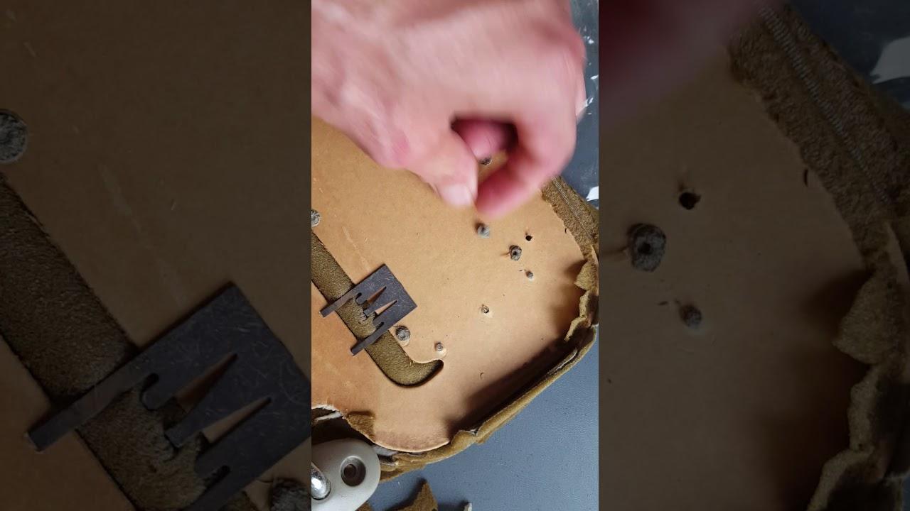 1998 Honda Civic sun visor repair part 1 - YouTube 15903f43968