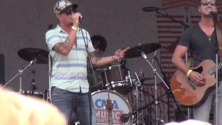 """Love and Theft, """"Whiskey On My Breath"""", CMA Fest 2015"""