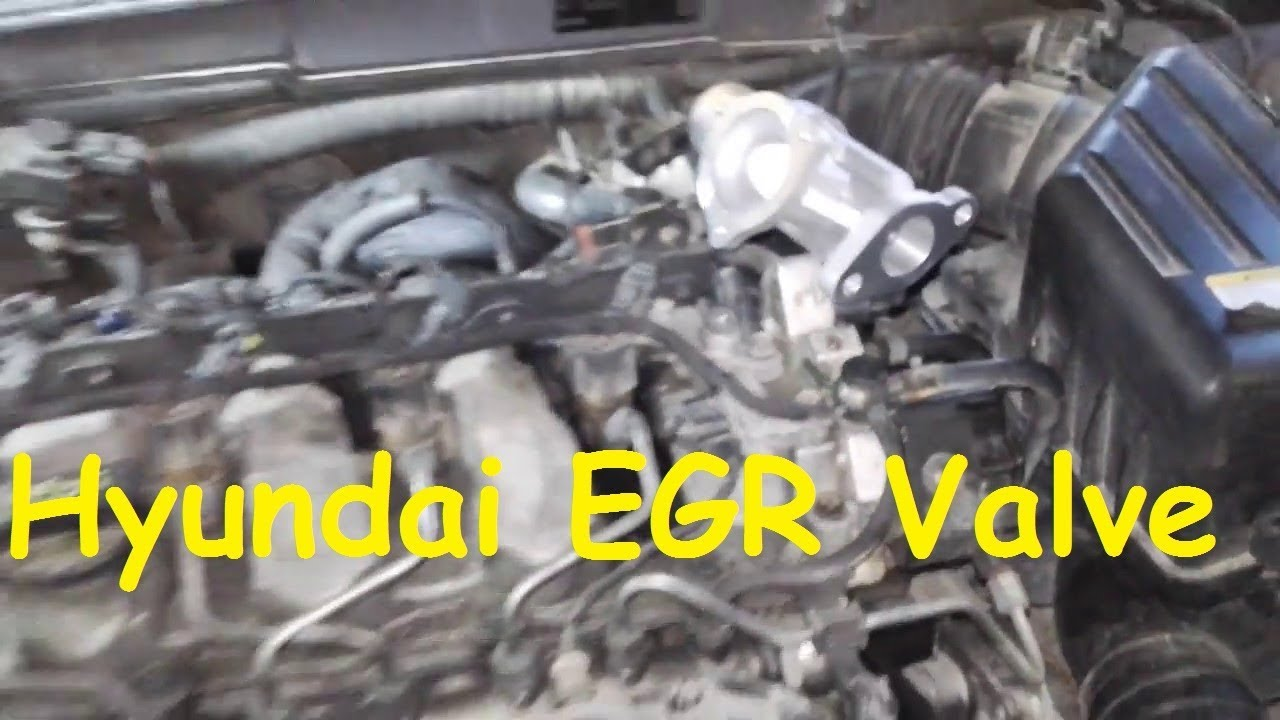 hyundai sonata egr problem egr valve replacement hyundai egr cleaning [ 1280 x 720 Pixel ]