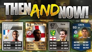 FIFA 15 THEN AND NOW!!! INSANE BPL TOTS PLAYERS FIRST CARDS IN FIFA HISTORY!!! Then And Now TOTS