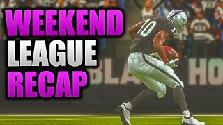 I HATE MADDEN AND HATE EA | Madden 19 Weekend League Recap Madden 19 Ultimate Team Gameplay