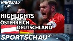 Österreich gegen Deutschland - die Highlights | Handball-EM | Sportschau