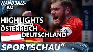 Österreich gegen Deutschland - die Highlights   Handball-EM   Sportschau