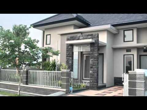 Desain Rumah Modern Nuansa Hijau