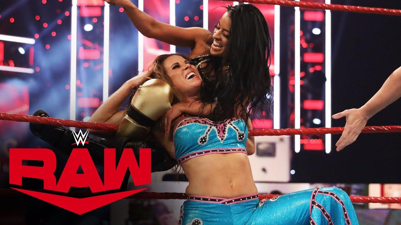 Mickie James vs. Zelina Vega – Winner faces Asuka at Clash of Champions: Raw, Sept. 21, 2020