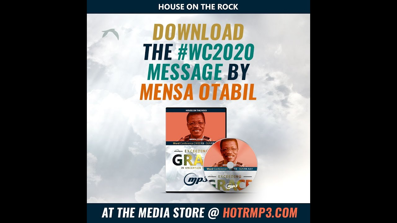 Download Word Conference 2020: Download the messages of Dr Mensa Otabil...