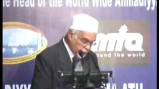 Ahmadiyya: Huzoor at a Reception at Ernakulam Kerala, India 2008 (2/5)