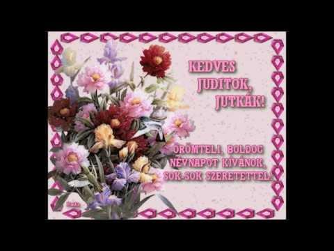 boldog judit napot Nagyon boldog névnapot! Judit napi köszöntő vers HD   YouTube boldog judit napot