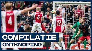 ONTKNOPING | Ajax neemt voorschot op landskampioenschap