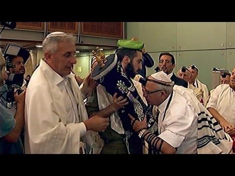Holocaust survivors finally celebrate their Bar Mitzvahs