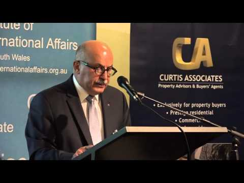 Armenia TV (Australia) - NKR Representative at Australian Institute of International Affairs