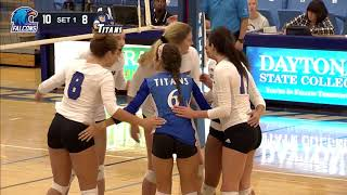 Daytona State  Vs Eastern Florida State Women's Volleyball 10-17-17