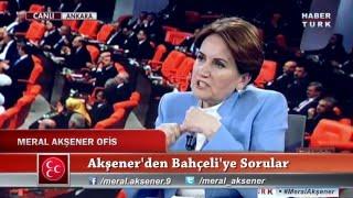Meral Akşener'den Devlet Bahçeli'ye Bomba Sorular