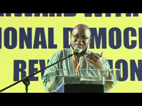 Mantashe's keynote address at ANC veterans Conference