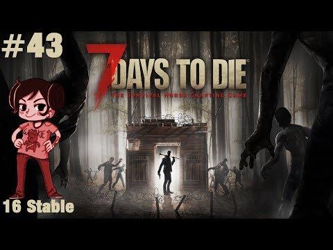 7 Days to Die ALPHA 16 - Let's Play #43 - Beton! [DE/PC/HD]