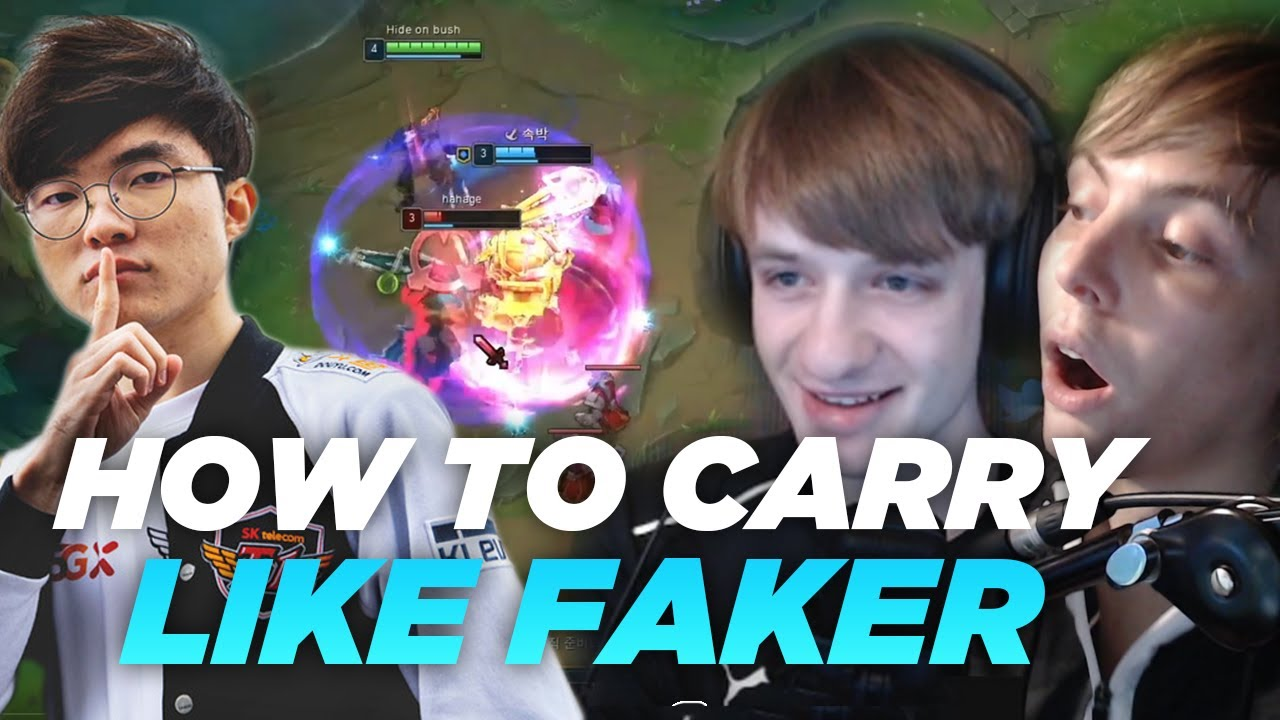 LS and Nemesis | HOW TO CARRY LIKE FAKER! VOD REVIEW