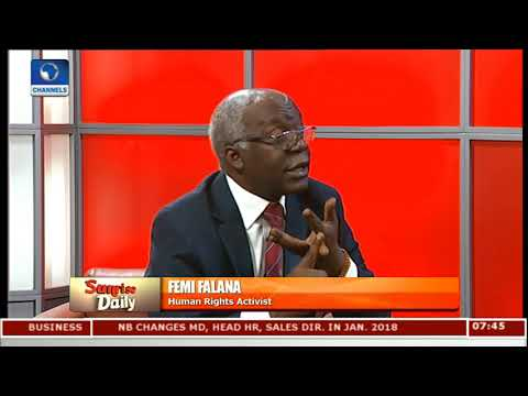 Falana Hails NASS For Passage Of Administration Of Criminal Justice Bill Into Law
