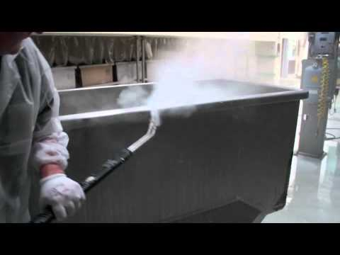 Tecnovap: Food industry - Industrial kneader cleaning