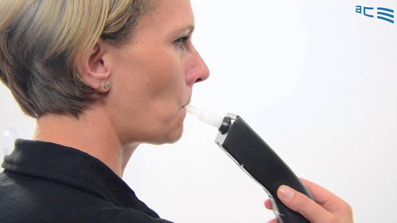 Alkoholtester EnviteC AlcoQuant 6020 plus 25 Mundstücke messen wie die Polizei