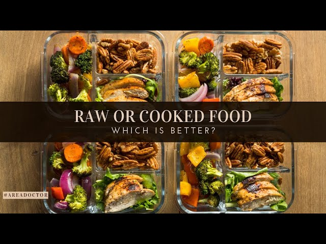 Raw Or Cooked Food- Which Is Better?- #AreaDoctor (Pidgin English)