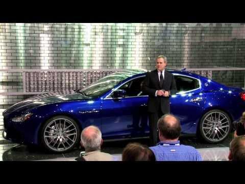Maserati Press Conference Los Angels Auto Show 2013