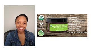 Sky Organics Raw Cocoa Butter Review