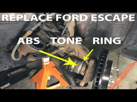 Replace 2008 Ford Escape Front ABS Tone Ring