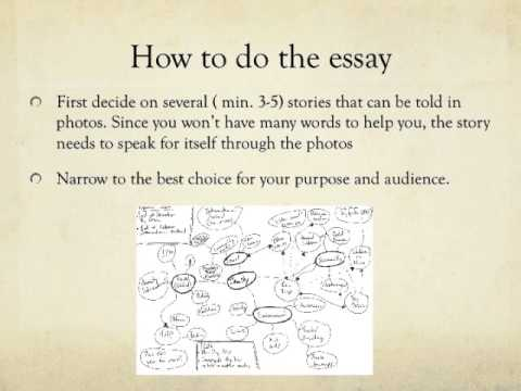 How to make an essay