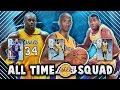NBA 2K18 ALL TIME LAKERS SQUAD!! FT. KOBE, SHAQ & MAGIC!! | NBA 2K18 MyTEAM SQUAD BUILDER