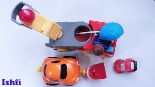 Ishfi's play time with toy car