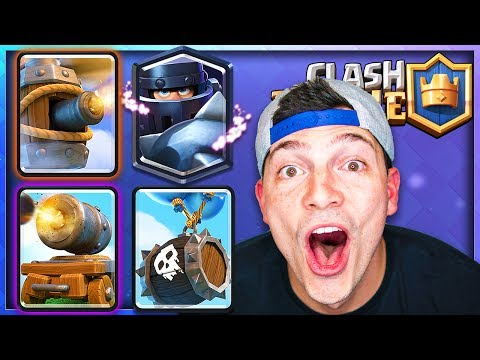 4 NEW CARDS - CLASH ROYALE UPDATE