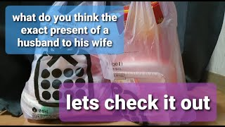 what exactly did the husband buy for you