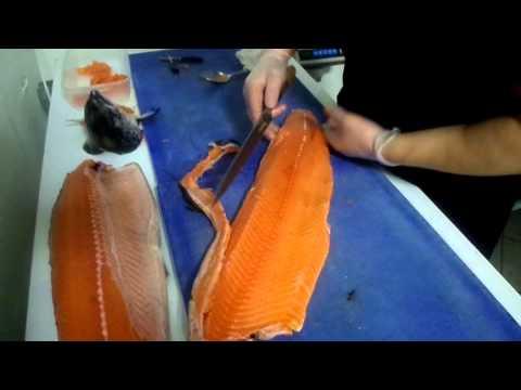 Школа суши. Мастер класс по разделке лосося