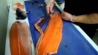 Мастер класс по разделке лосося