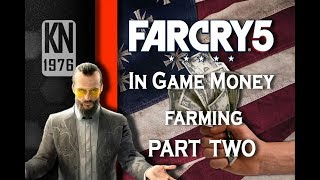Far Cry 5 farming for money in main campaign Part 2 My best go to spot for hunting local wildlife