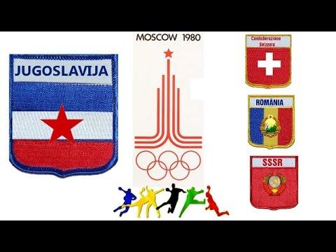1980 Summer Olympics games Moskwa HANDBALL JUGOSLAVIJA SWISS ROMANIA SSSR ГАНДБОЛ RUKOMET