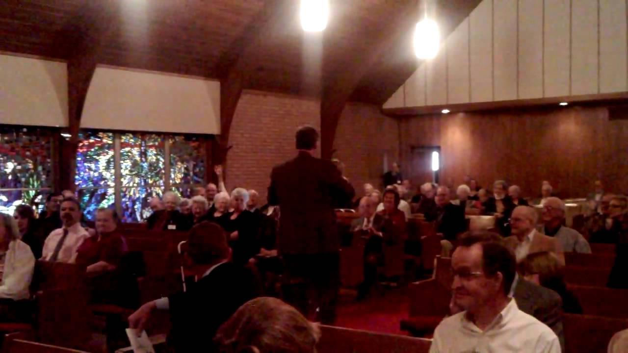 Brayden And Raynes Baptism Presentation To Church