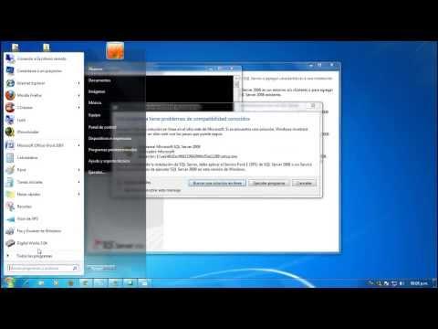 Instalacion de SQL Server 2008 Express. [ HD ]