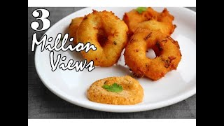 Rava vada recipe - very easy and instant sooji/semolina vada recipe