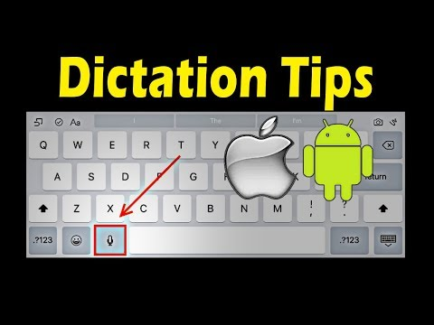 Voice Dictation 101 For Android & IOS - Capitalizing And Starting A New Line