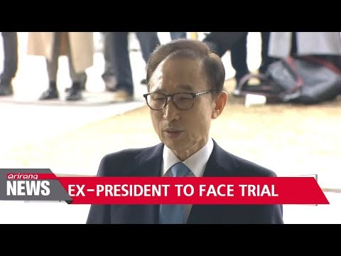 Prosecutors indict ex-president Lee Myung-bak on charges of bribery and embezzlement