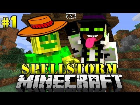 Das HOFFNUNGSLOSE DUO! - Minecraft Spellstorm #001 [Deutsch/HD]