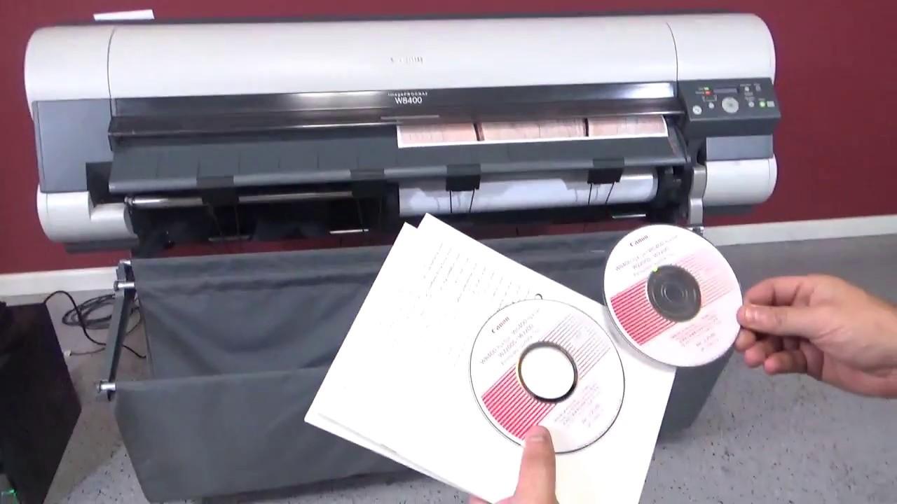 IMAGEPROGRAF W8400 DRIVER WINDOWS XP